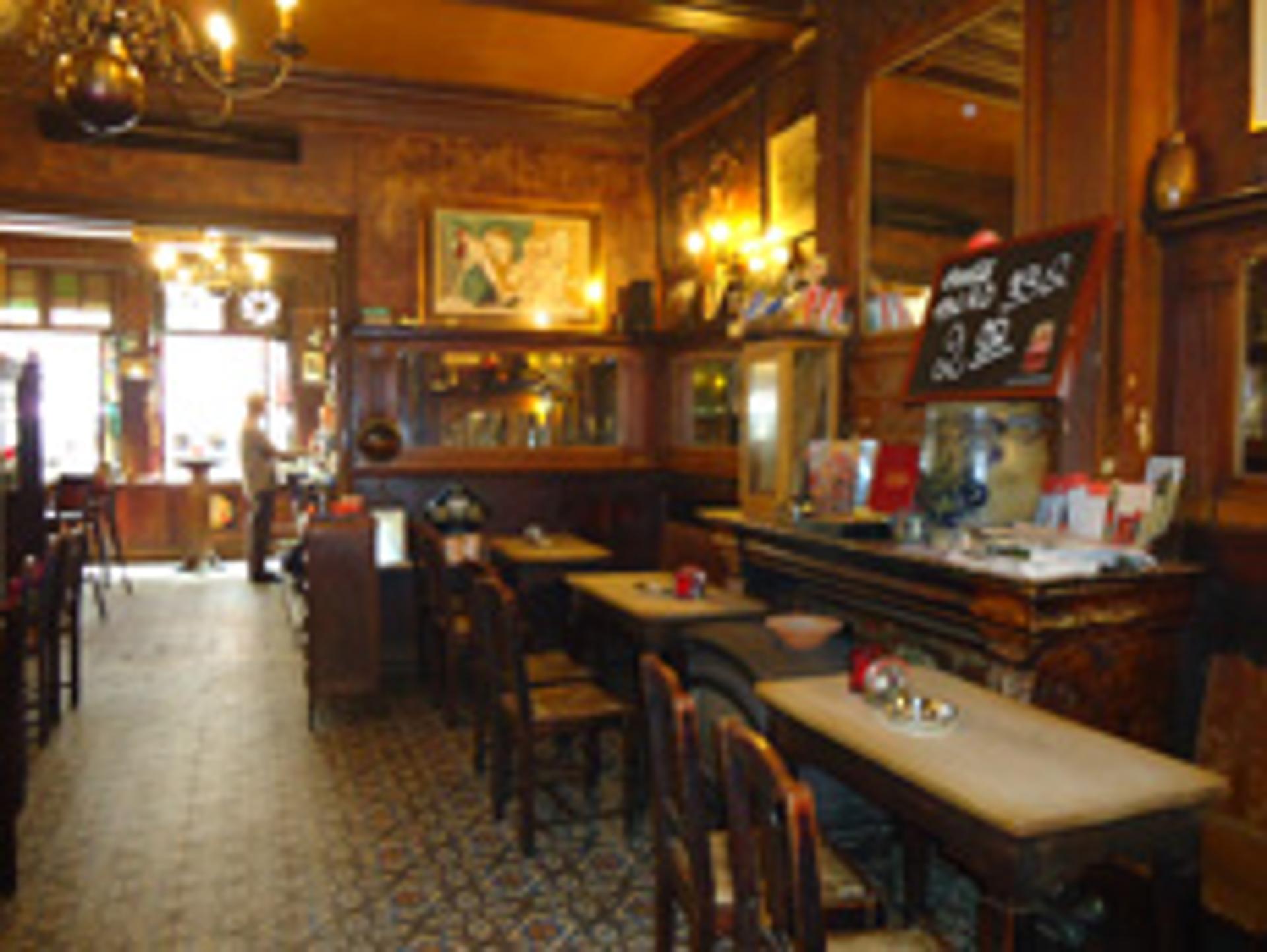 Taverne Saint-Paul, côté salle