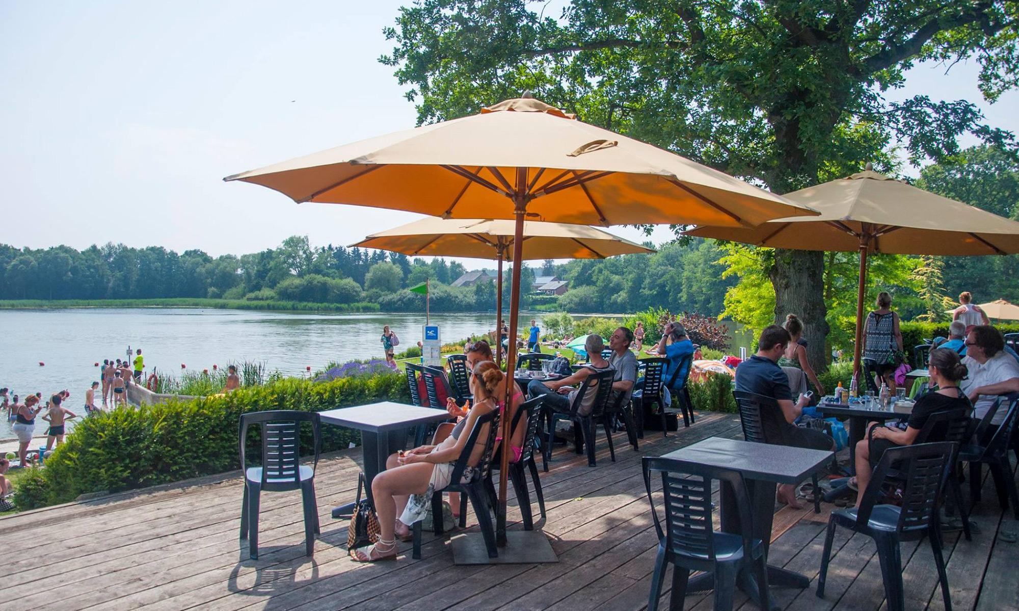 Cafétaria des Jardins du lac de Bambois