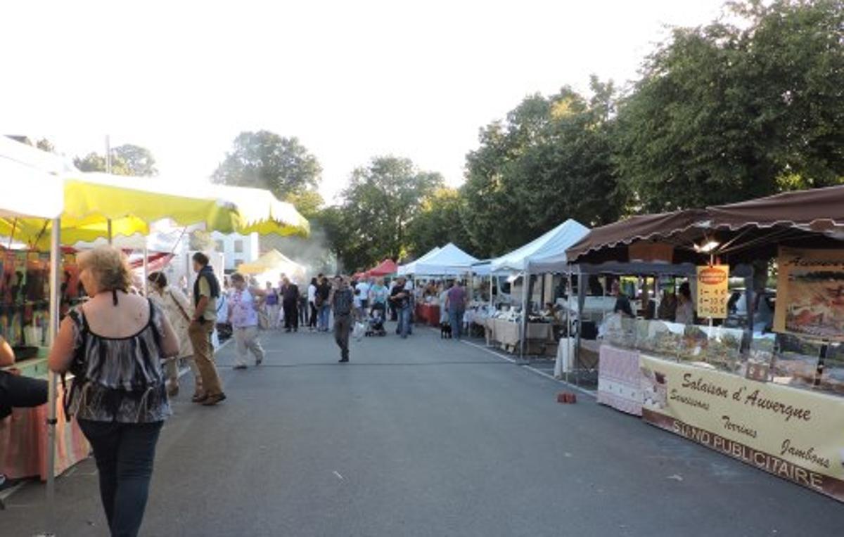 Marché artisanal nocturne de Chimay
