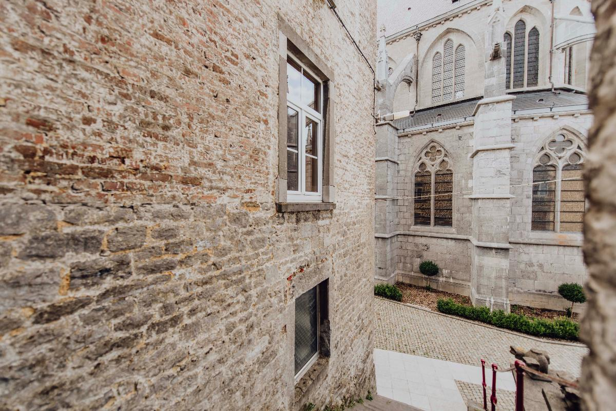 Walcourt, the medieval town
