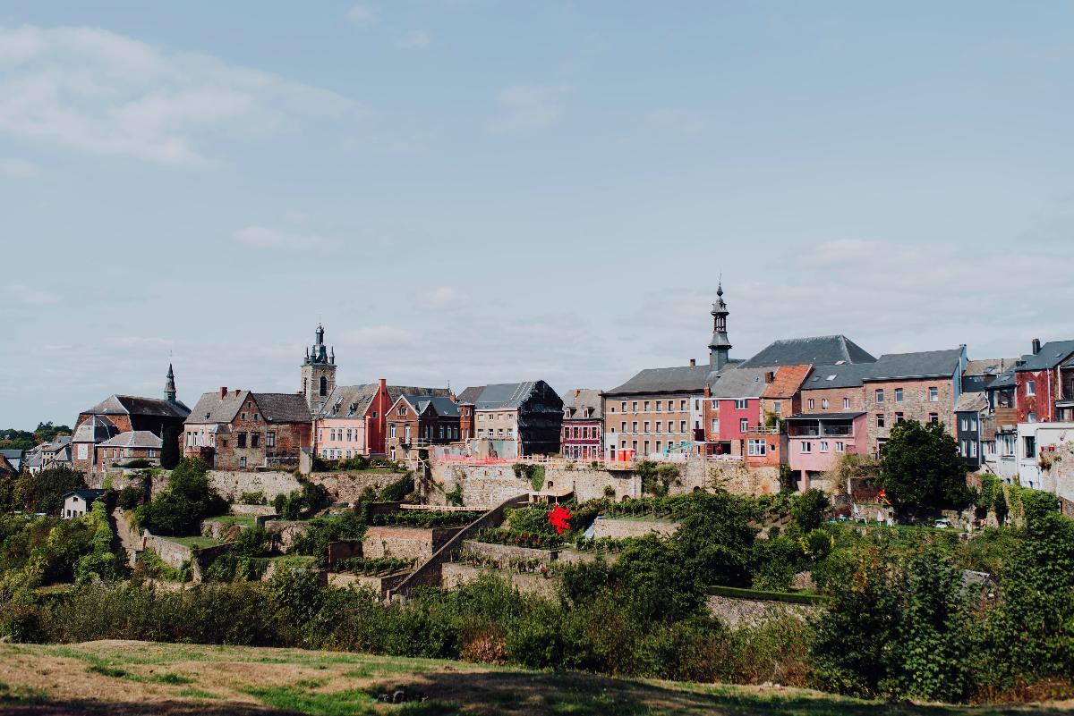 Cité médiévale et jardins suspendus de Thuin