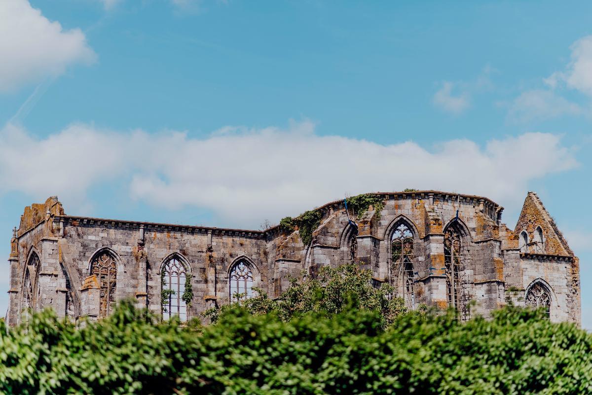 Plaats van de abdij van Aulne