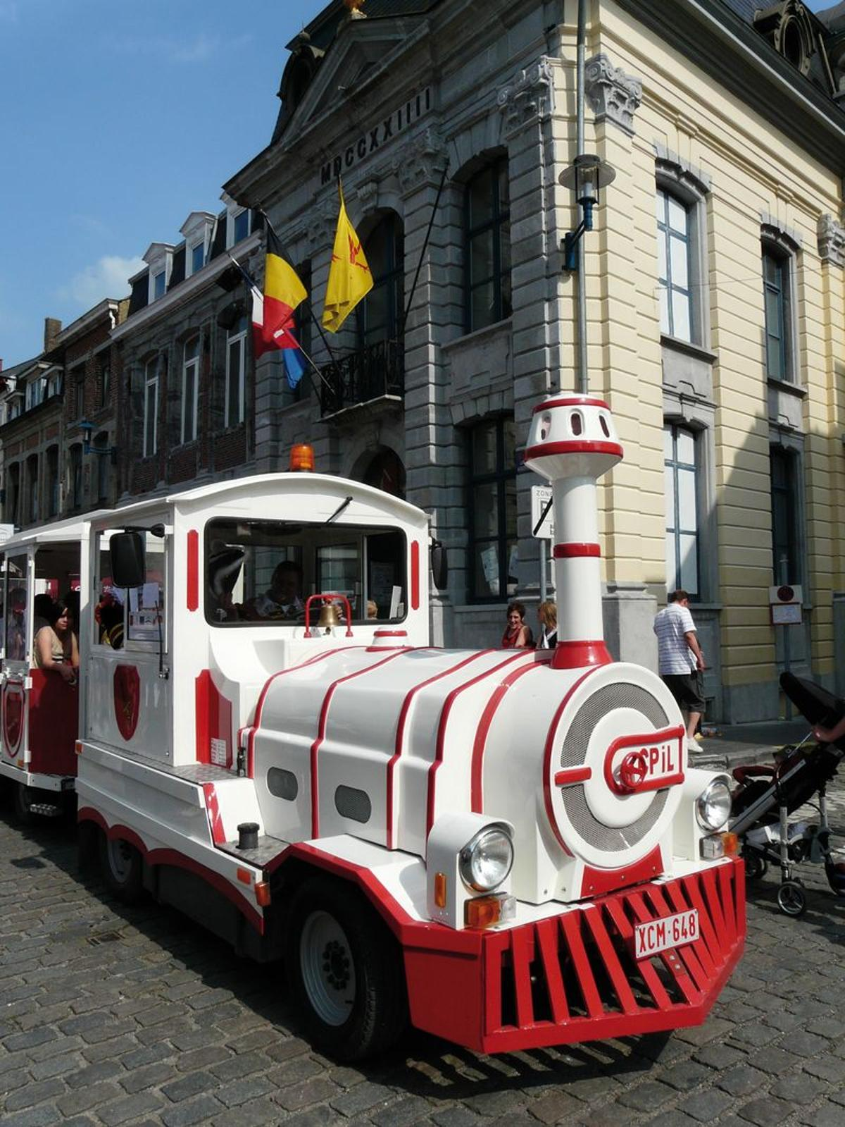 Small Tourist Train in Chimay