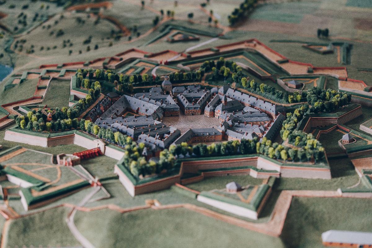 Plan-relief de Charleroi