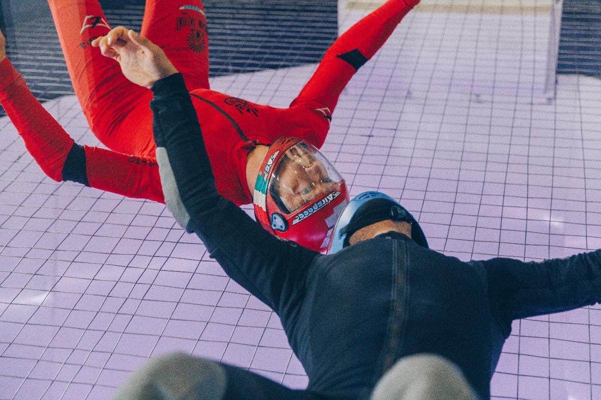 Airspace indoor skydiving