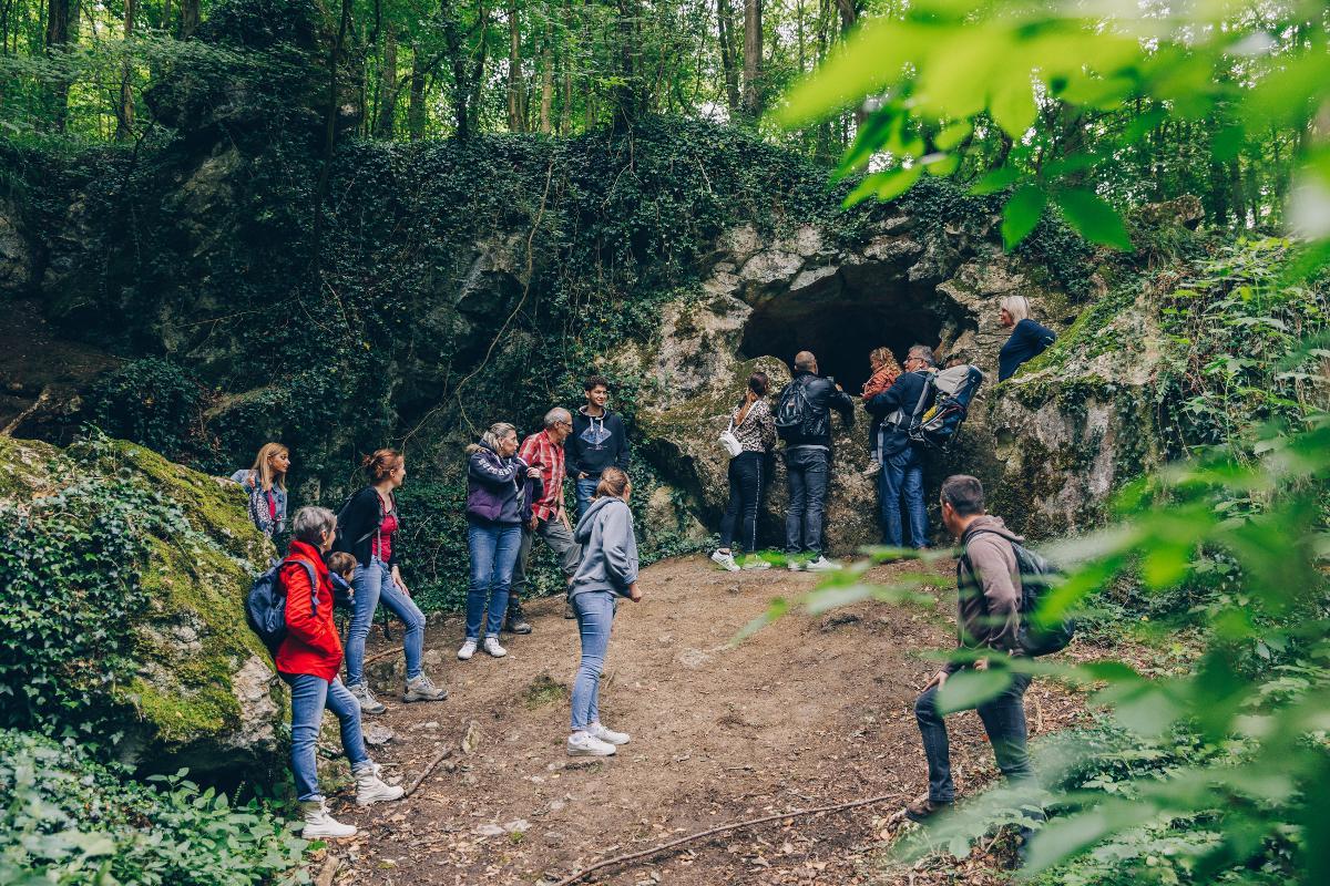 Spaziergang in den Bois du Prince