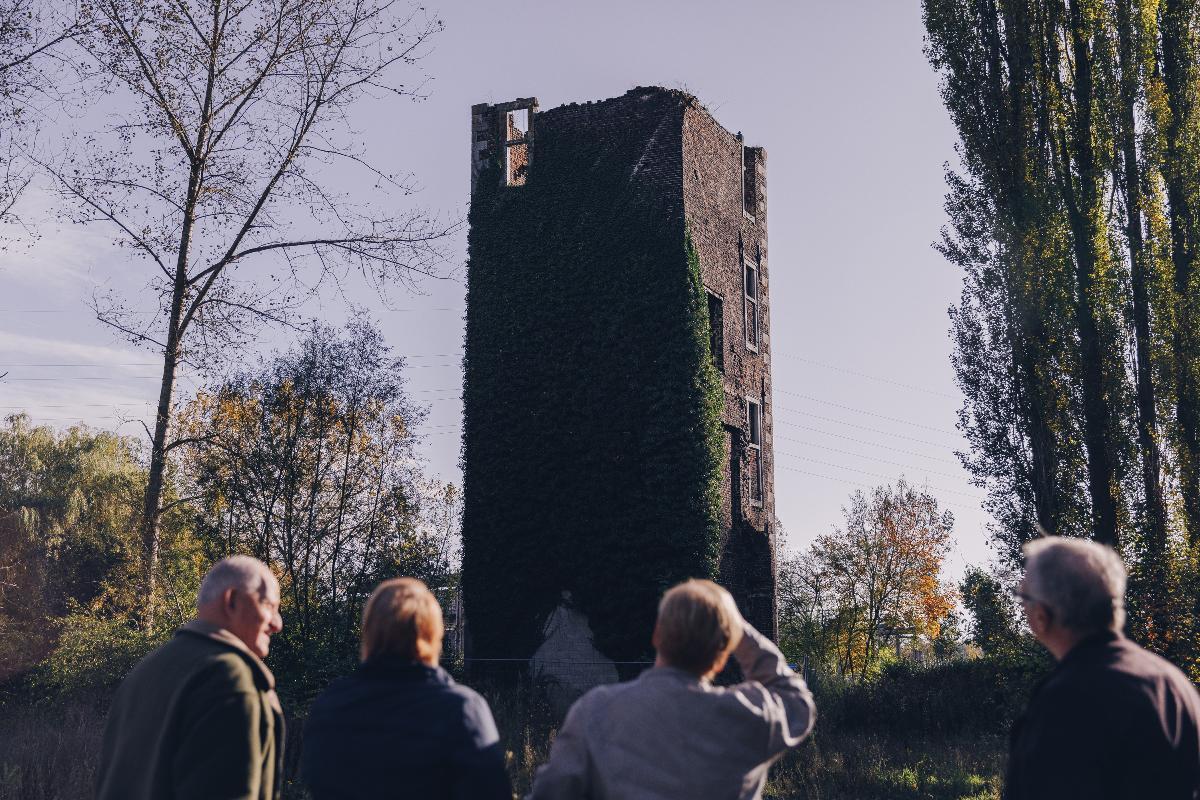 Promenade du Château à Farciennes