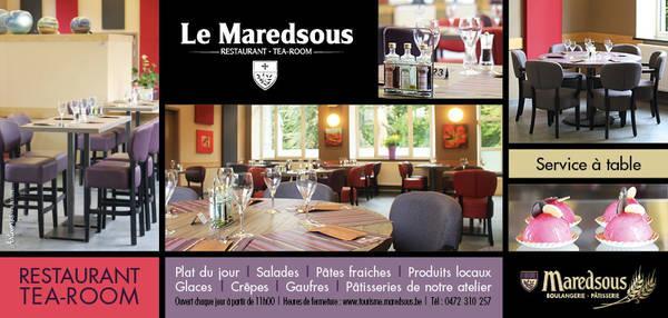 RESTAURANT/ TEA ROOM : LE MAREDSOUS