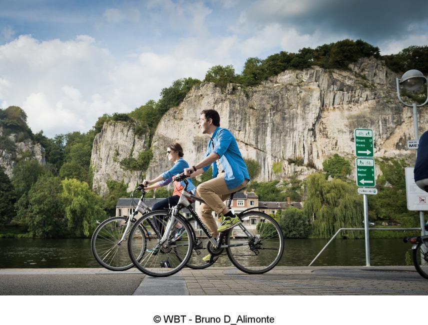 Vallée de la Meuse Namur-Dinant à vélo