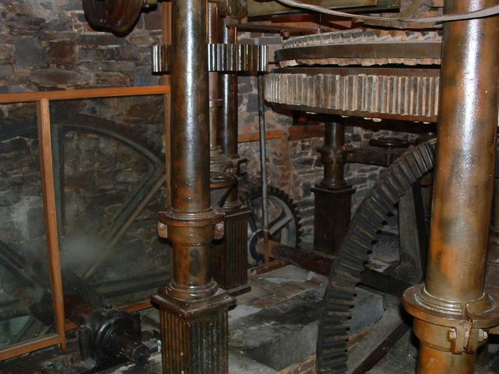 Engrenages du moulin