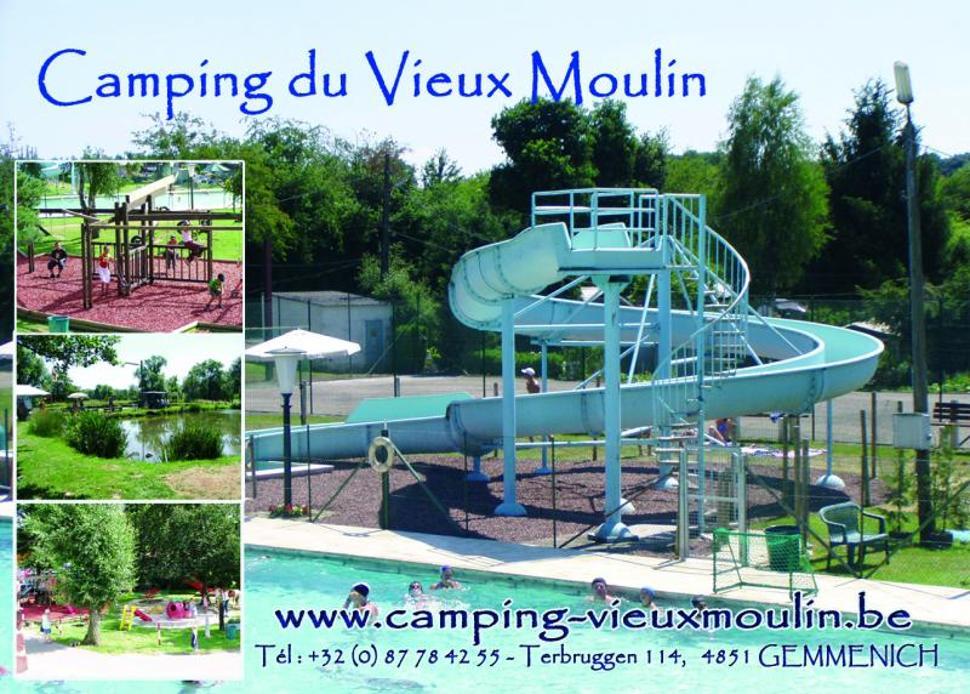 Montage camping du Vieux Moulin