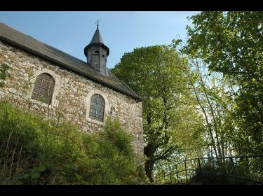 Eglise et fief de Saint-Hadelin