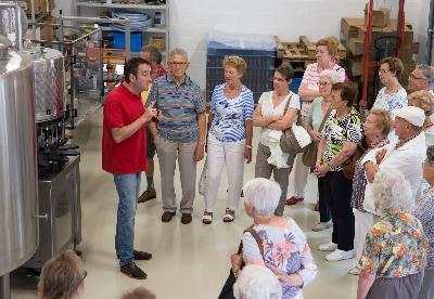 Visite guidée de la brasserie du Grain d'Orge