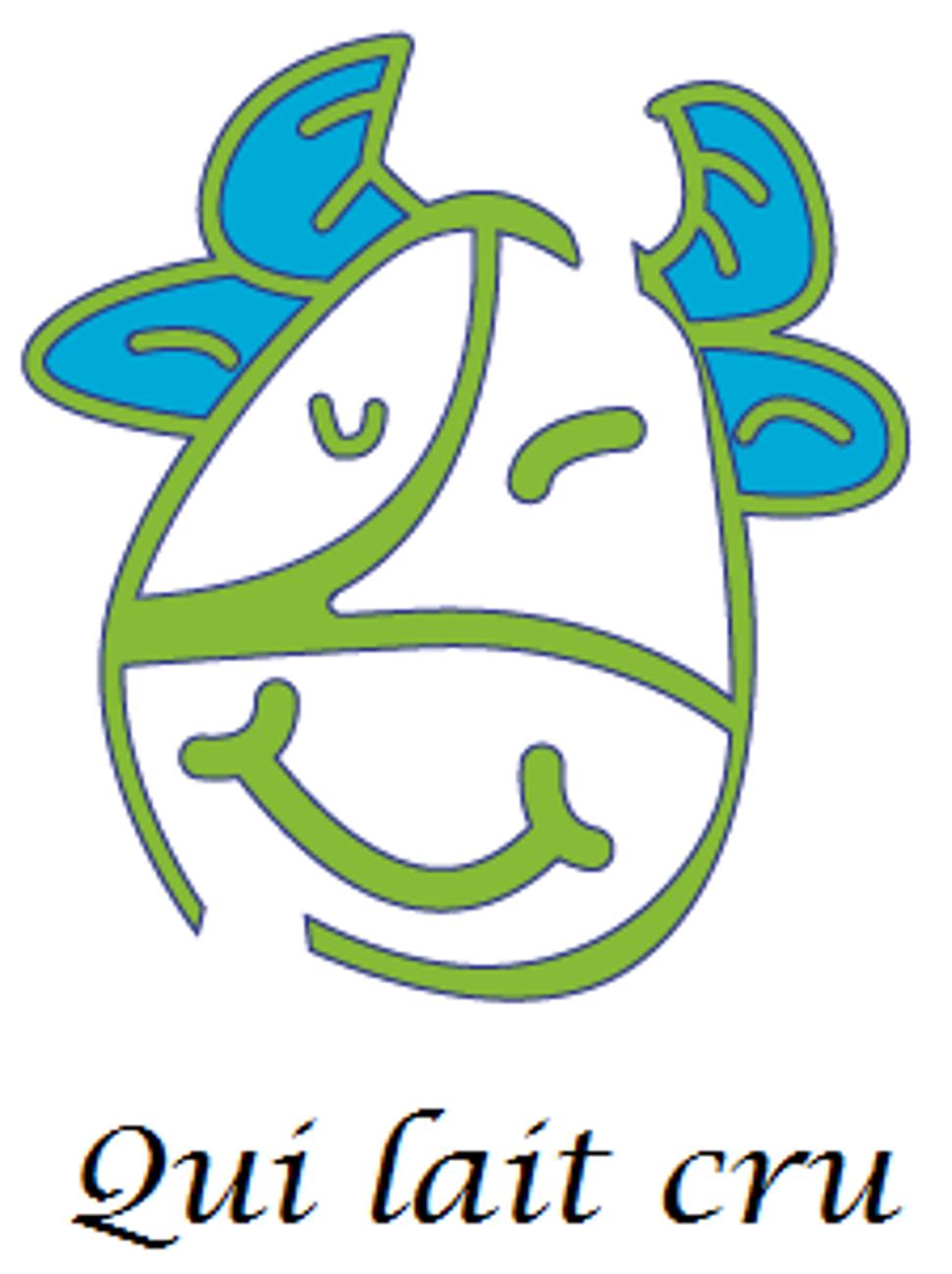 Logo qui lait cru