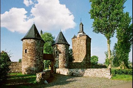 Château féodal de Sombreffe