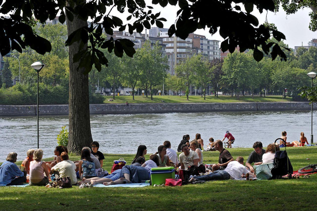 Le parc de la Boverie