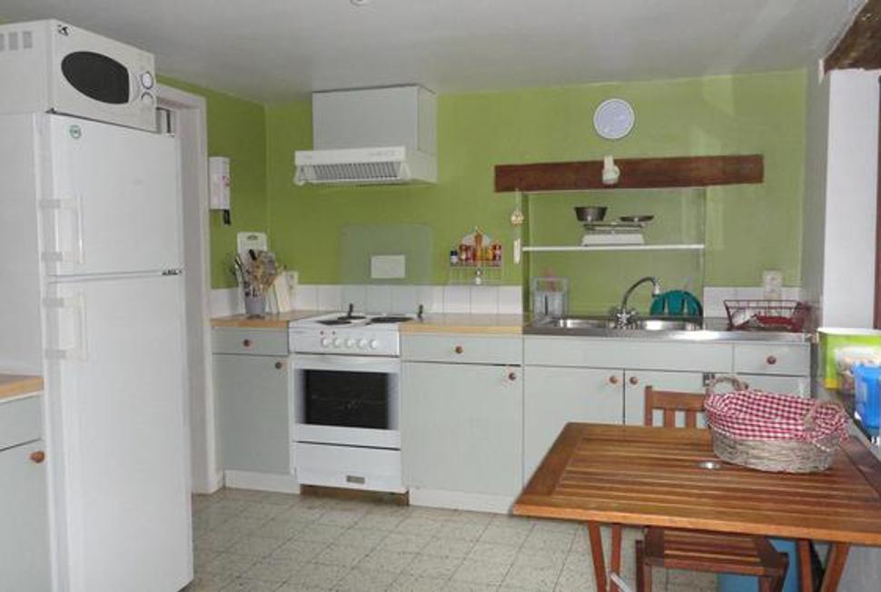 La Grange d'Ychippe - cuisine gîte