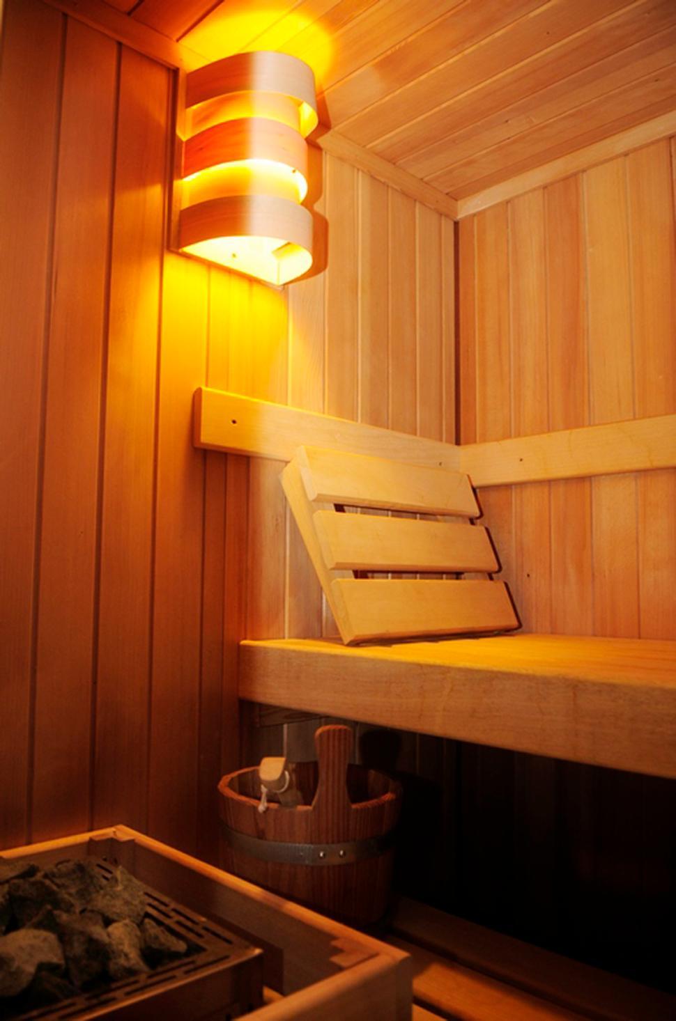 Sur le tige à Hamois - sauna