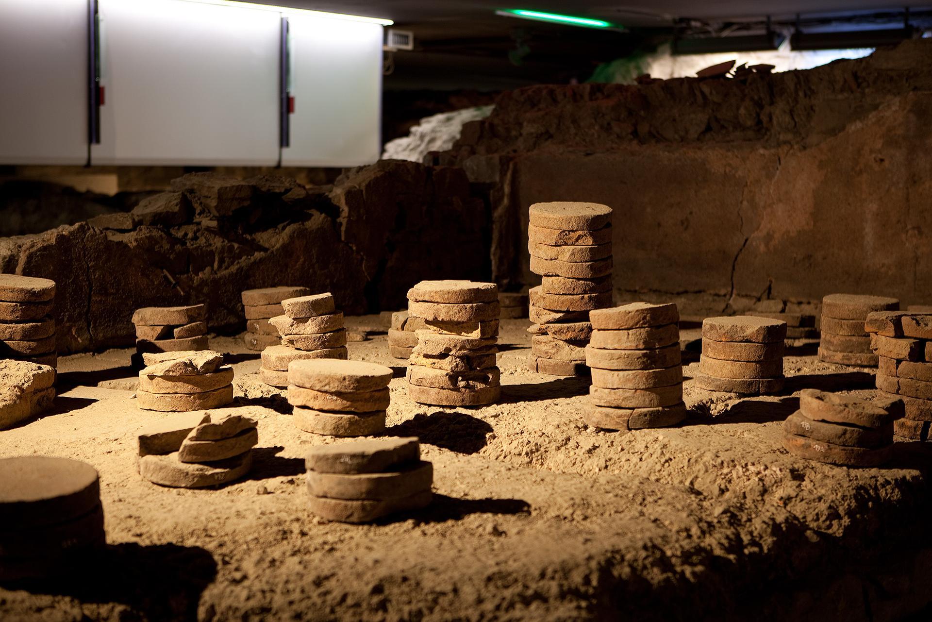 Archéoforum - Liège - Hypocauste