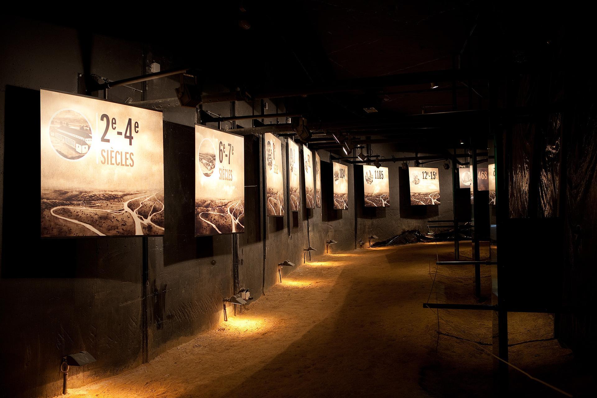 Archéoforum - Liège - Ligne du temps
