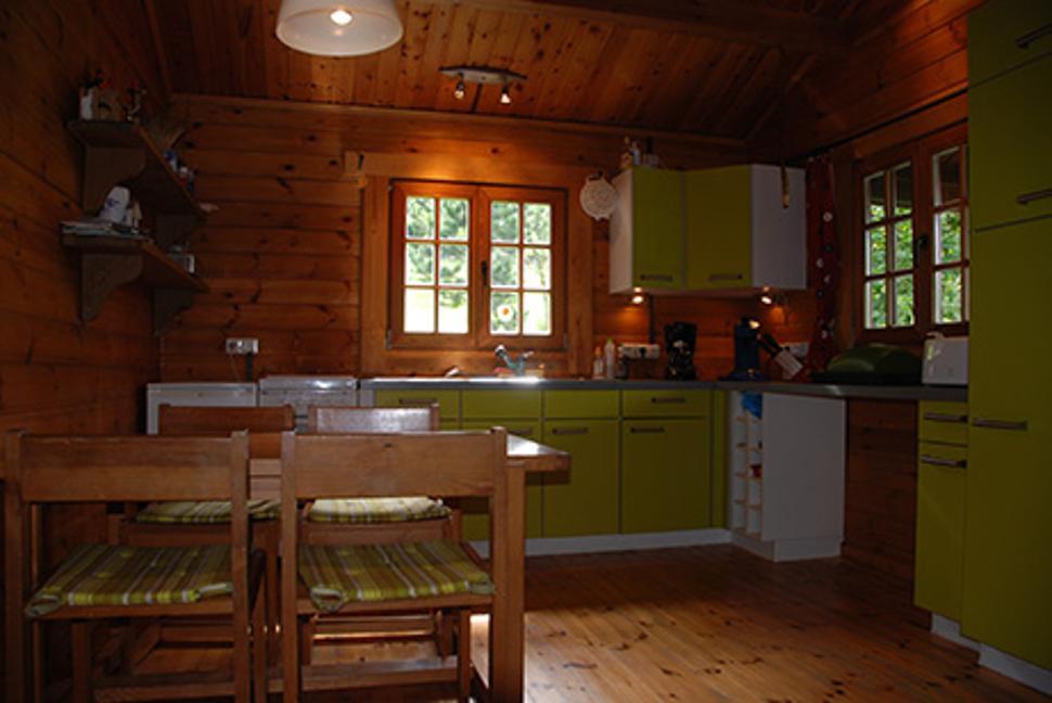 Chalet du trou du bois - Neufchâteau - cuisine