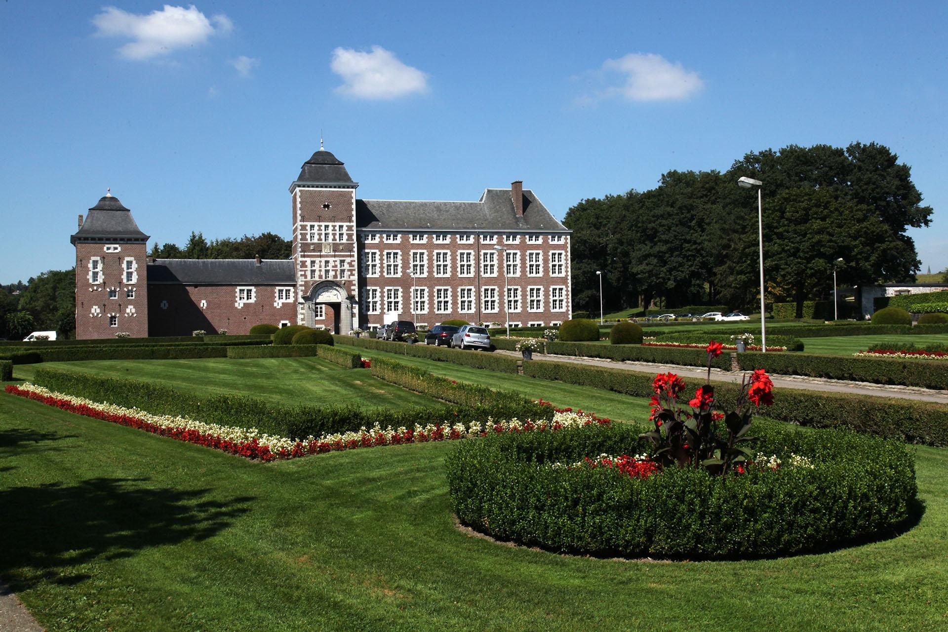 Domaine provincial de Wégimont - Wégimont - Façade et jardin