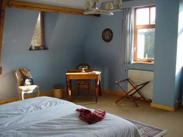Haras de Baudemont - Chambre bleue