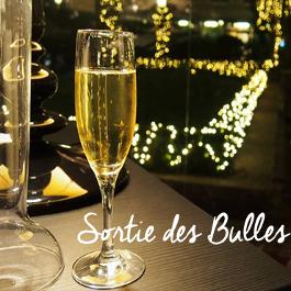 Sortie des bulles au Château de Bioul