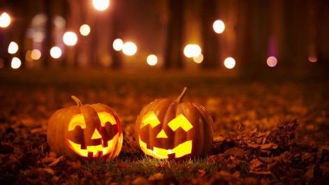 Marche aux flambeaux d'Halloween à Foy-Notre-Dame