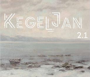 La palette de l'artiste peintre Franz Kegeljan