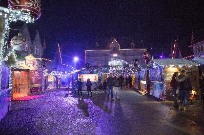 Marché de Noël à Maredsous