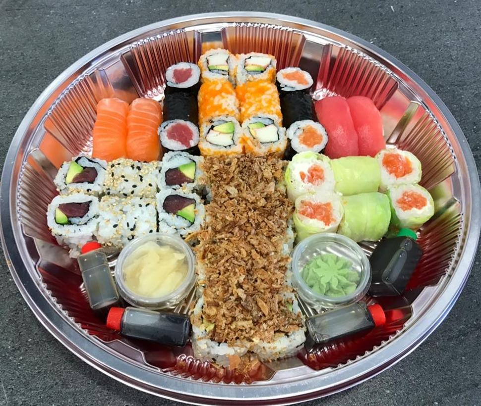 Top sushis assiette