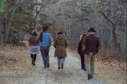 Porcheresse : Promenade de la Ferme du Hasard