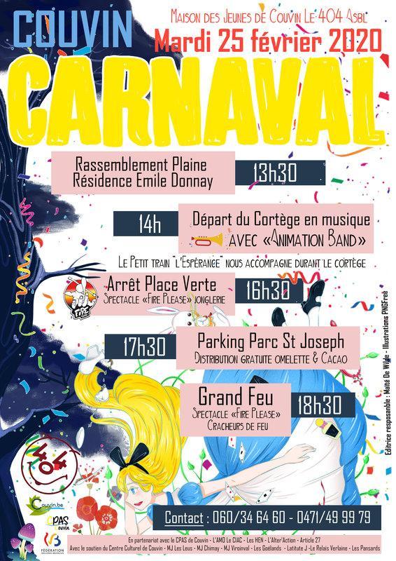 Carnaval de Couvin - Alice au Pays des Merveilles