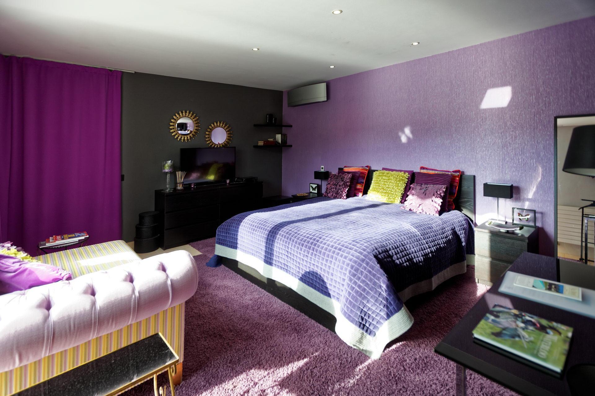 Villa Tiffany - Chambre Mauve