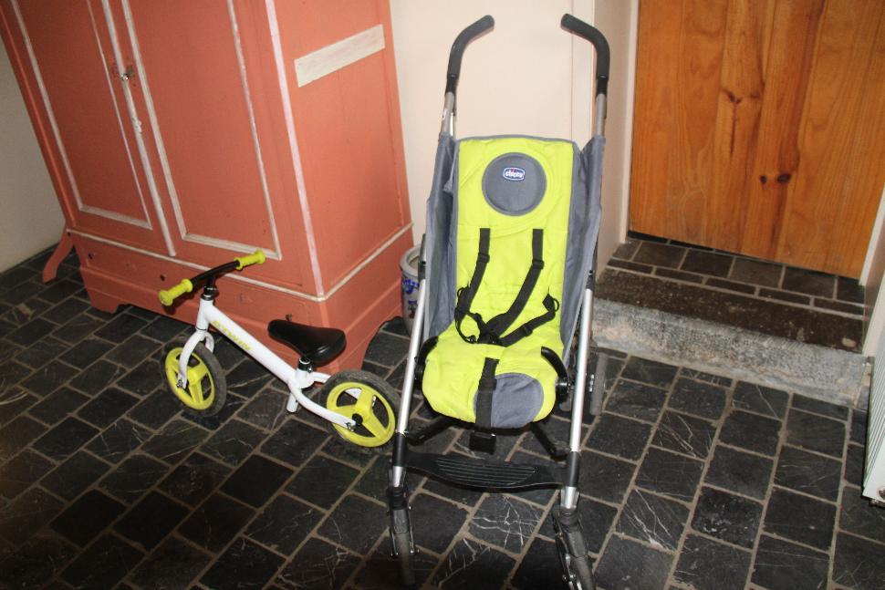 La Maison d'à Côté - vélo - poussette