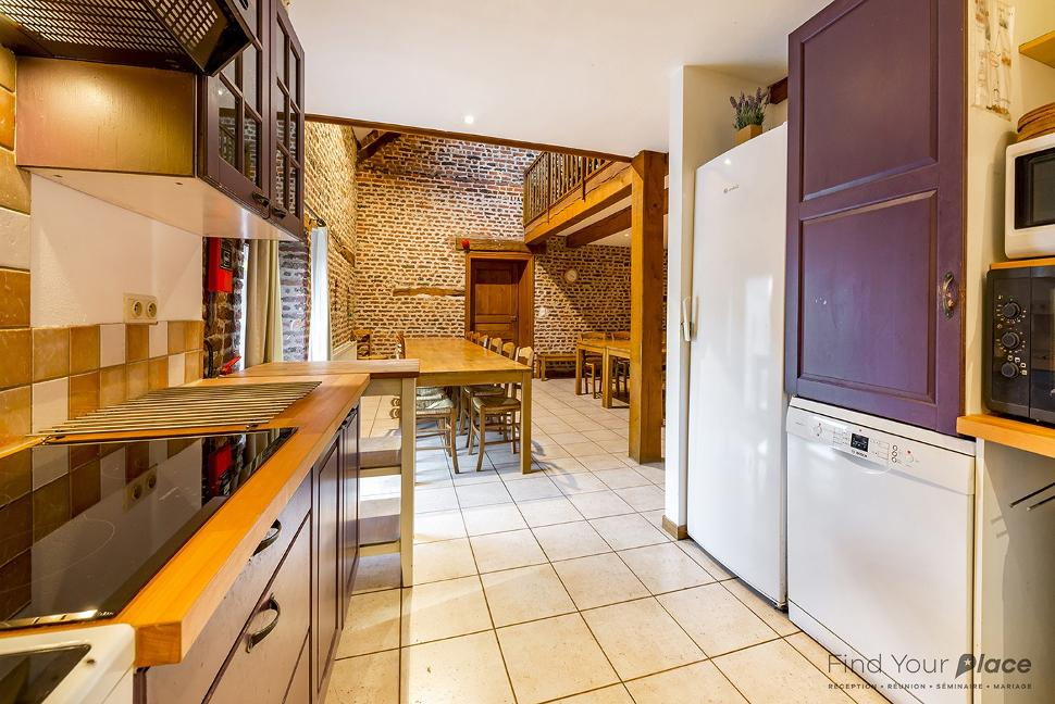 Ferme du château de Tahier - cuisine