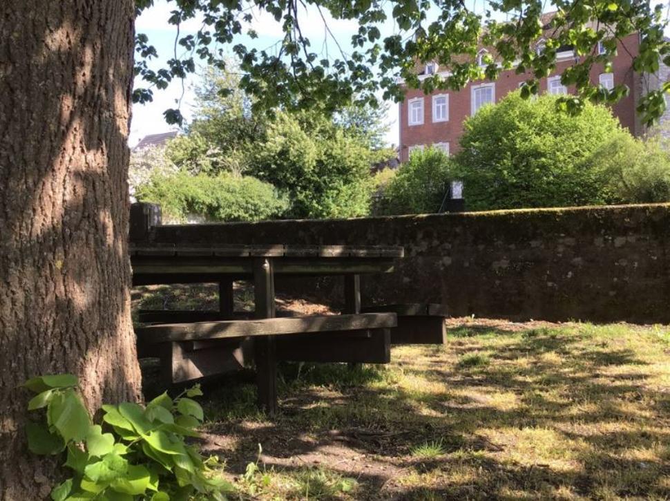 Table de pique-nique Jardin maison communale (3) bis