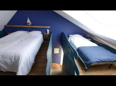 Coteaux du Vinave - Slaapkamer Azur