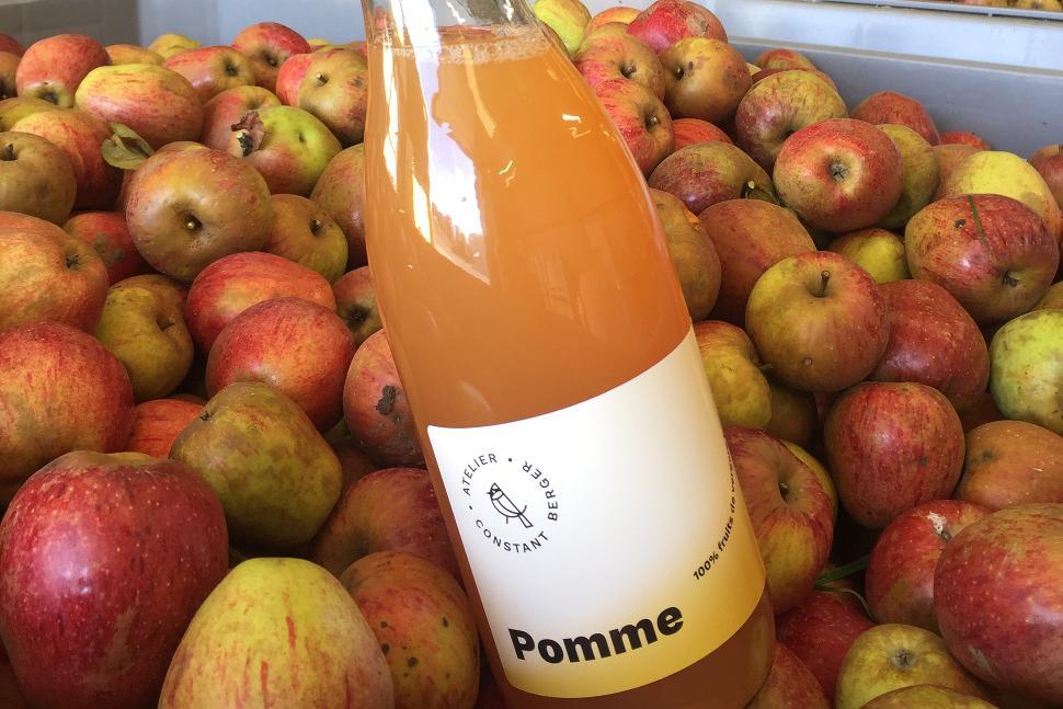 Cidrerie - pressoir Atelier Constant Berger - Herve - jus pommes