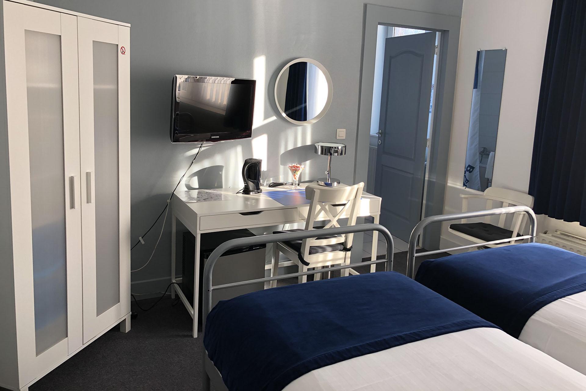 Liege Hôtel Eurotel - Chambre - Lits simples