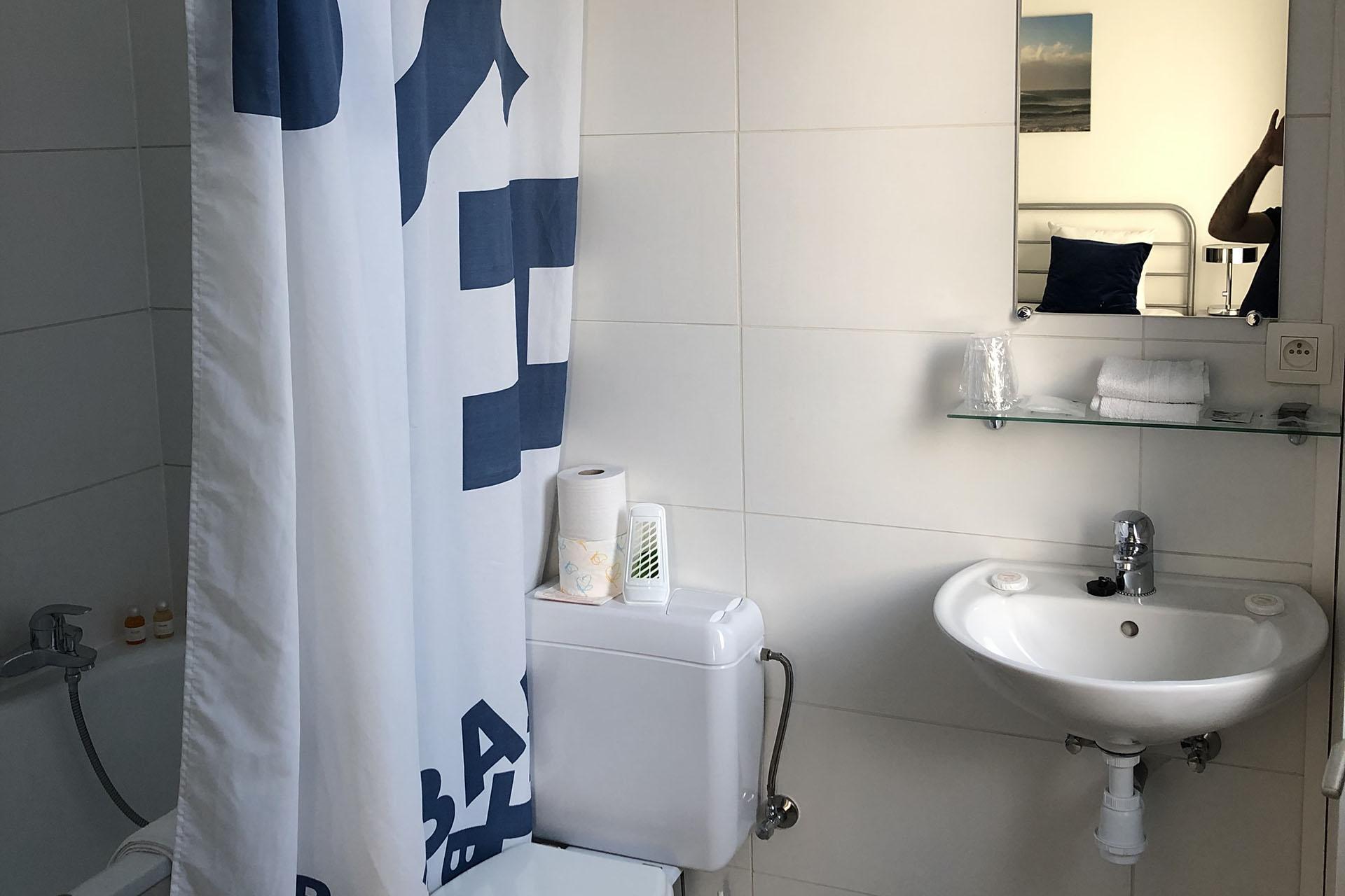 Liege Hôtel Eurotel - Chambre - Salle de bain - Douche