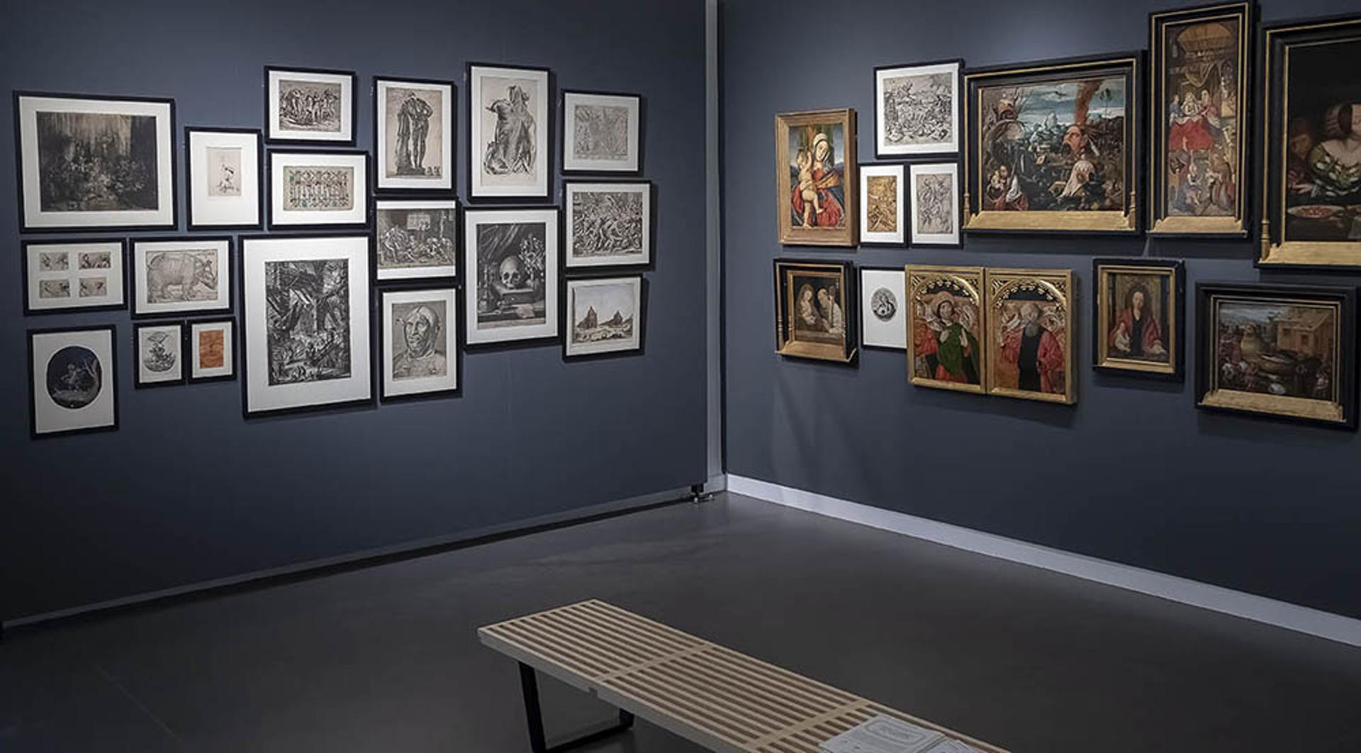 Musée Wittert - Salle d'exposition