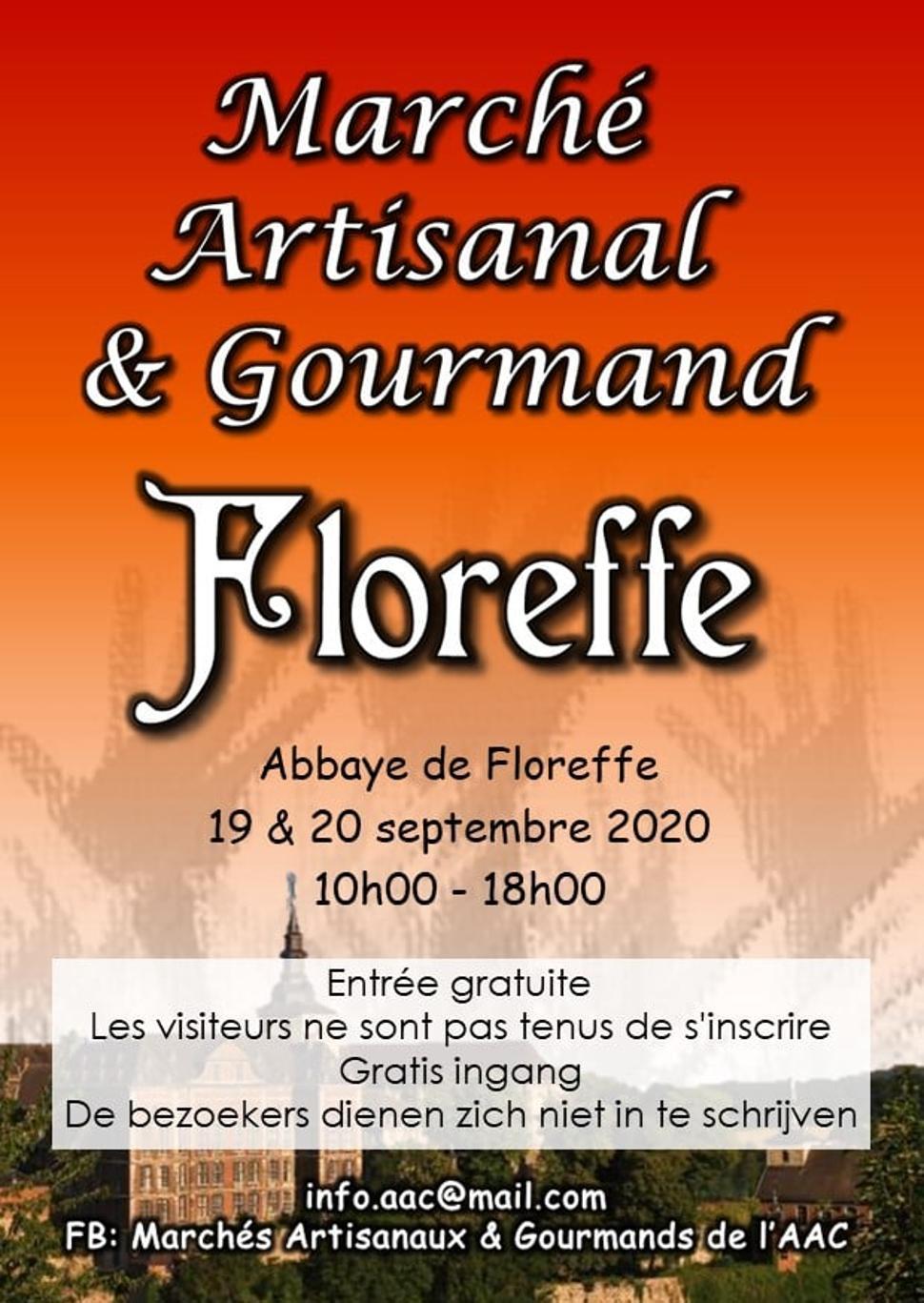 Marché artisanal & gourmand de floreffe 2020