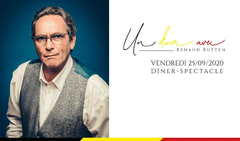 Un dîner avec Renaud Rutten