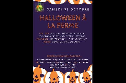 Soirée Halloween à la ferme de Goyet - Jemeppe-s/Sambre