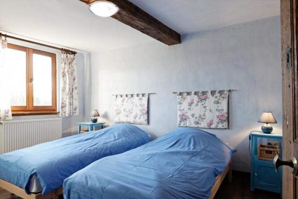 Beaurepaire chambre bleue