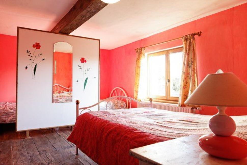 Beaurepaire chambre rose