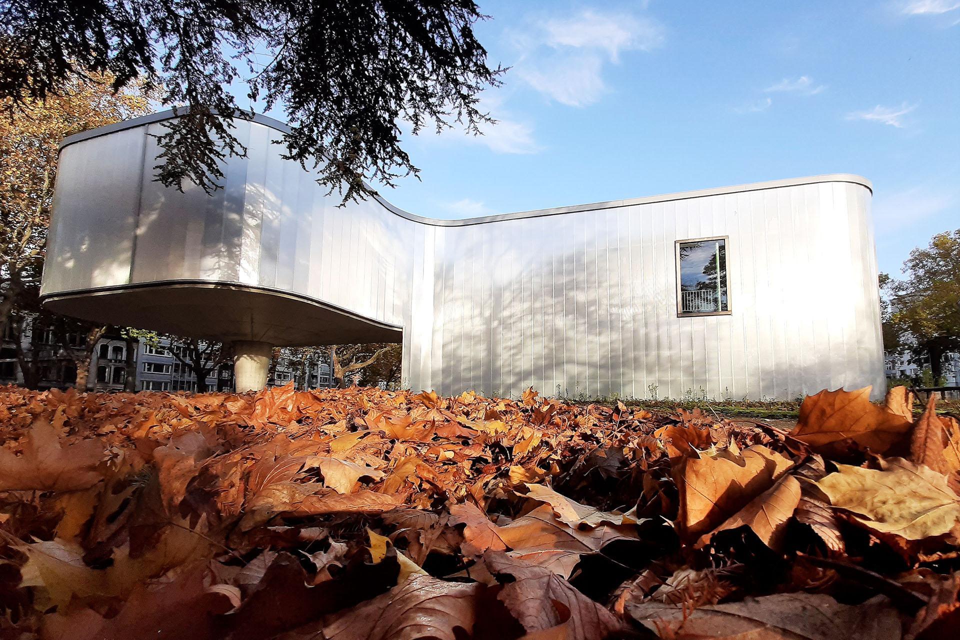 Trinkhall museum - Liège - vue extérieure 1