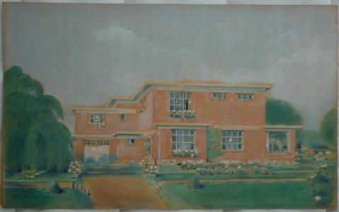 Exposition consacrée à l'architecte Albert-Charles Duesberg